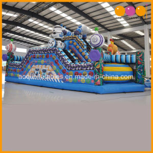Factory Price Bouncer and Slide Robot Theme Inflatable Combo (AQ01781) pictures & photos