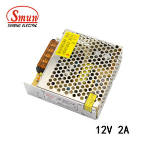 Smun S-25-12 25W 12V Single Output AC-DC Switching Power Supply pictures & photos