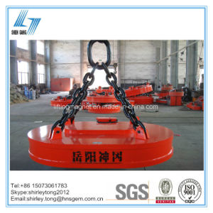High Lifting Capacity of Electric Magnet for Lifting Cast Iron pictures & photos