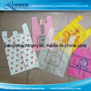 Binhai Machinery Fully Automatic T-Shirt Handle Bag Making Machine pictures & photos