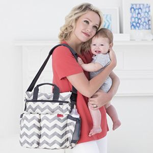Waterproof Shoulder Messenger/Tote Diaper Bag Multifunctional Nappy Mummy Changing Bag pictures & photos