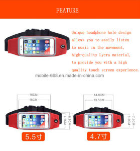 Waterproof Pouch Outdoor Sports Running Waist Phone Bag Case for Smart Phones pictures & photos