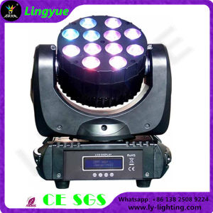 Stage DJ Disco LED Moving Head Power Beam 12X10W Quad Color pictures & photos