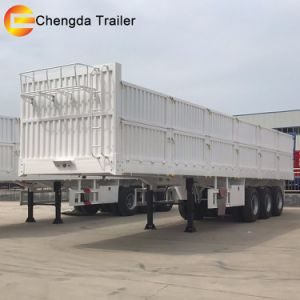 Promotional 3 Axles Cargo Flatbed Trailer pictures & photos