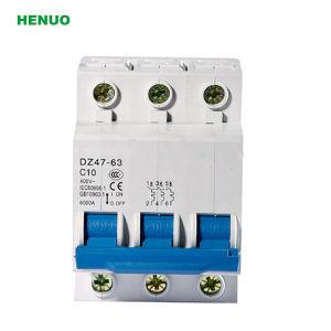 High Quality Dz47-63 3p 4p 45A 50A 63A MCB Circuit Breaker pictures & photos
