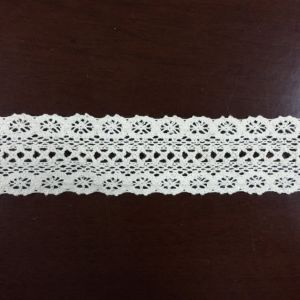 Cheap Fashion Cotton Embroidery Lace Fabric for Garment Factory pictures & photos