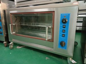 Restaurant Stainless Steel Gas Rotisserie for Chicken Grill Oven Hgj-188 pictures & photos