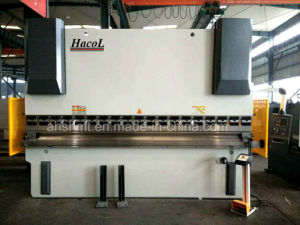 Popular Models Hydraulic Press Brake with Easy Controller; Tonsion Bar Plate Bending Machine pictures & photos