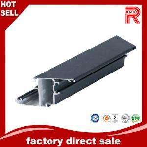 Aluminum/Aluminium Extrusion Black Anodized Profile for Window pictures & photos