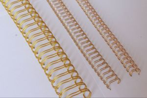 Twin Ring Metal Spiral Book Binding Wire pictures & photos