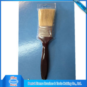 Short Handle Paint Brush with White Bristle pictures & photos