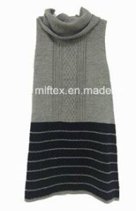 Sleeveless Knitting Sweater for Women pictures & photos