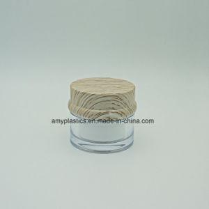 30g Trasparent Plastic Cosmetic Cream Jar pictures & photos