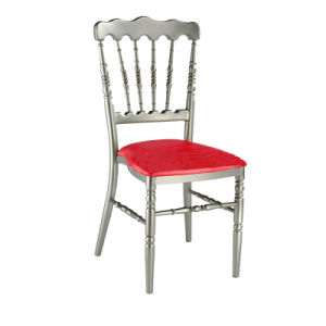 Wedding Banquet Aluminum Chiavari Napoleon Chair with Fixed Cushion (JY-J07) pictures & photos