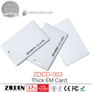 125kHz Blank White PVC Chip Smart Card pictures & photos