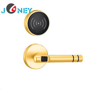 High Security Hotel Lock / Smart Door Lock with RFID Card Software Managment System pictures & photos