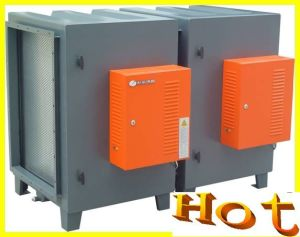 Kitchen Ventilation System with Electrostatic Precipitator (ESP)