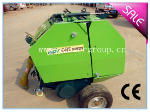 Mini Round Hay Baler, CE Approval pictures & photos