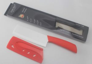 """Top Quality 5.5"""" Inch Ceramic Kitchen Knife with Sheath"""