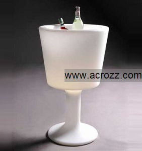 Glowing LED Lighting Wine Ice Cooler Bucket pictures & photos