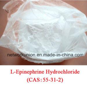 99% L-Epinephrine Hydrochloride (Adrenalin chloride; Adrenaline Hydrochloride; Racepinephrine HCl) CAS 55-31-2 pictures & photos