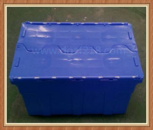 Colored Burglarproof Stackable Plastic Logistic Box with Lid for Sale pictures & photos