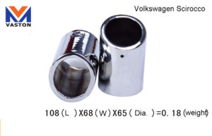 Exhaust/Muffler Pipe for Volkswagen Scirocco, Made of Stainless Steel 304b pictures & photos