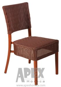 Aluminum Wicker Chair (AS1025AR) Outdoor Furniture Side Chair pictures & photos