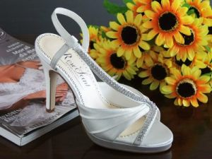 Ivory Wedding Shoes (Og0076)