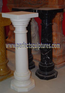 Corinthian Pillar with Stone Marble Granite Sandstone (QCM141) pictures & photos