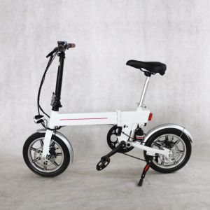 36V Lithium Battery 14inch Mini Folded Electric Bike pictures & photos