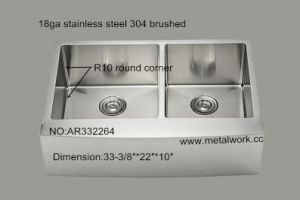 Undermount Stainless Steel Sinks Use for Farmhouse