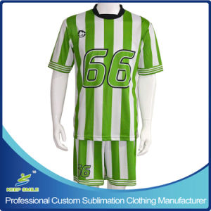 Custom Digital Sublimation Quick Dry Comfortable Team Soccer Uniforms pictures & photos