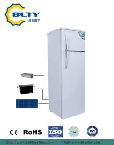 Huge Capacity Solar Refrigerator of Double Doors with Ce& RoHS pictures & photos