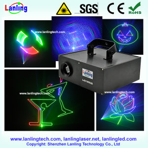 1W RGB 3D Disco Laser Stage Light pictures & photos