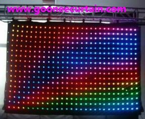 Professional Weight Light LED Curtain LED Video Curtain
