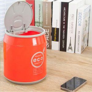 Trash Bin Storage Barrel Flip Desktop Storage Barrel Round Cola Type Storage/Trash Basket Bin pictures & photos