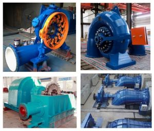 Francis Turbine/ Turgo Turbine/ Pelton Turbine/ Kaplan Turbine/ Tubular Turbine Generator Unit pictures & photos