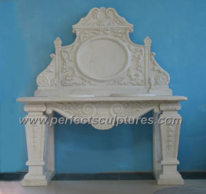 Carved Stone Vanities and Marble Vanity (QBN072)