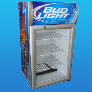 Upright Cooler with Light Canopy, Beverage Cooler (SC-55L) pictures & photos