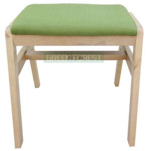 Soft Seat Wooden Makeup Stool (D-027)