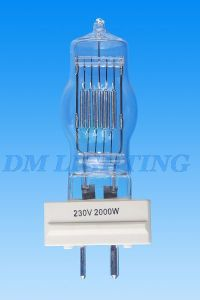 Single End Quartz Glass Optic Discharge Halogen Bulb pictures & photos