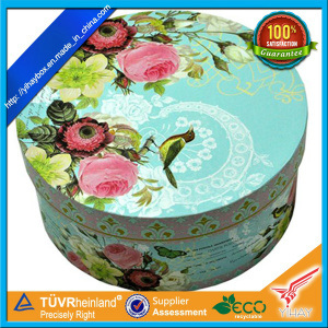 Eco-Friendly Paper Round Gift Packaging Box (RB04)