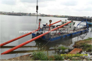 Digging Sand Pump Dredger in Nigeria (CSD 200) pictures & photos
