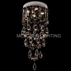 Drop Chandelier Round Base Lighting Fixtures Home Bedroom Lobby