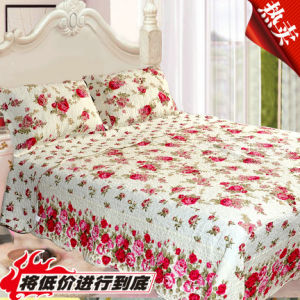 100% Cotton Quilt Bedding Set (HK-1109)