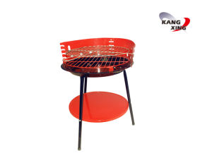 Round Shape BBQ Grill with Skewers (KX-8001)