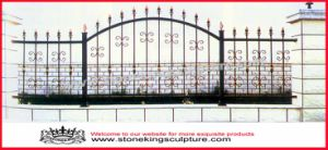 Wrought Iron Fence, Garden Fence, Steel Fence pictures & photos