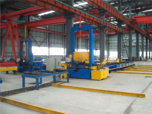 H Beam Welding Line/ in Stock H Beam Assembling Machine pictures & photos