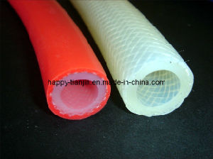 Silicone Rubber Braid-Reinforced Tubing pictures & photos